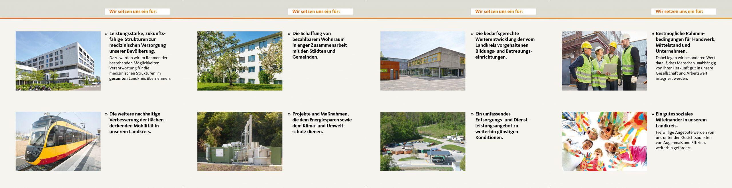 Flyer Kreistagswahl 2019 des Landkreis Heilbronn auf www.cdu-abstatt.de – Innenseite
